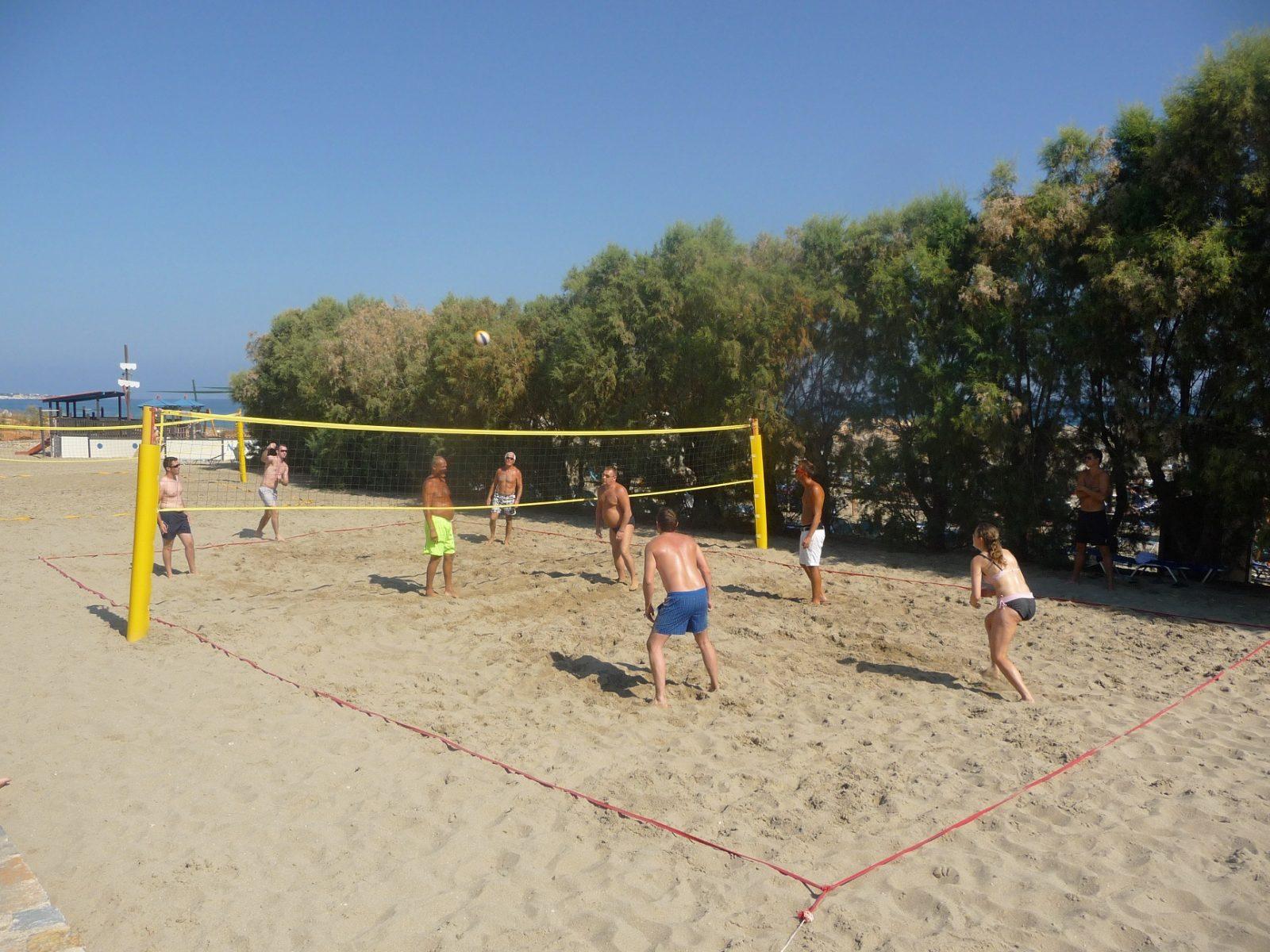 Volleyball im Urlaub