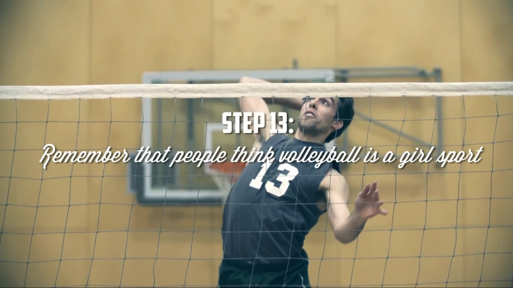 How to be a volleyball player?