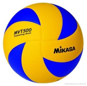 Das Bild zeigt den Stellerball Mikasa MVT-500.