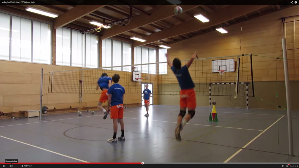 Volleyball Trickshots by SV Wipperfürth