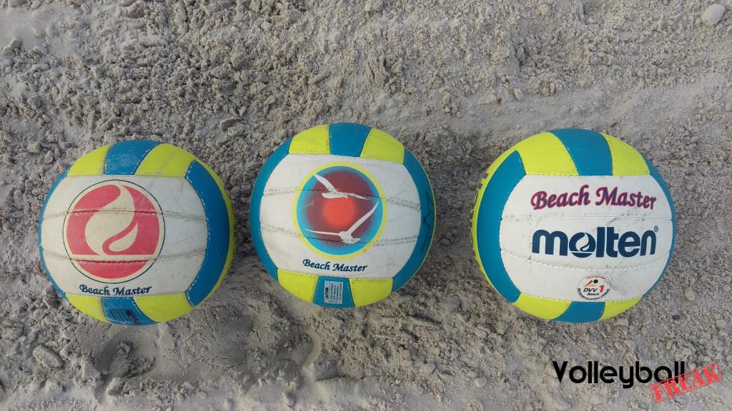 Das Bild zeigt die Alle 3 Generationen des Molten Beach Master MBVBM