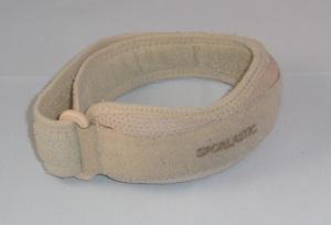 Das Bild zeigt ein ockerfarbenes Patellasehnenband.