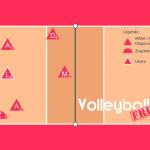 Volleyball Läufersystem mit 1 Steller