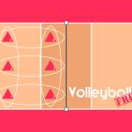 Volleyball Läufersystem