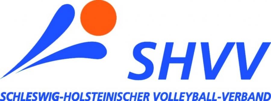 Das Bild zeigt das Logo des Schleswig-Holsteiner Volleybal-Verband (SHVV).