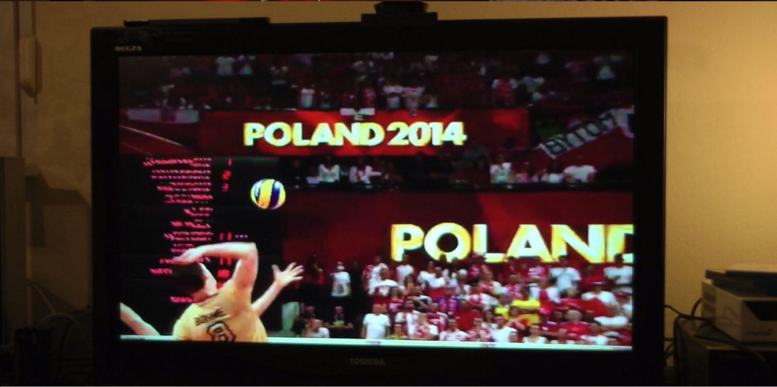 Volleyball im Fernsehen