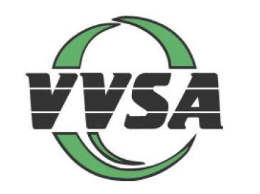 Das Bild zeigt das Logo des Volleyball Verband Sachsen-Anhalt (VVSA).
