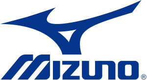 Das Bild zeigt das Logo des Sportartikelherstellers Mizuno aus Japan