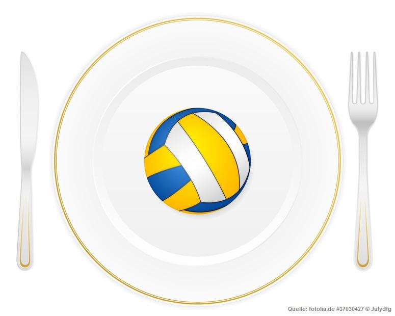 Ernährung im Volleyball
