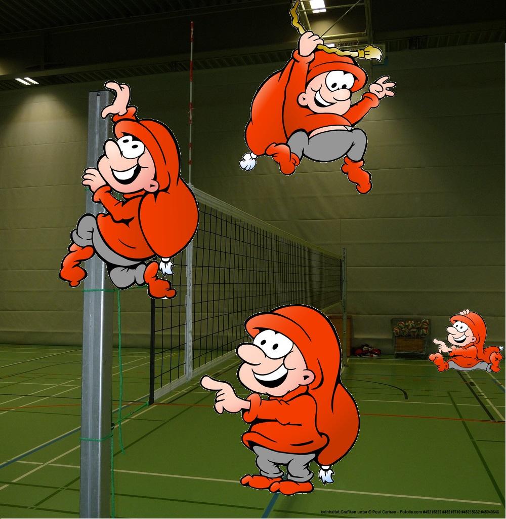 Gibt es Heinzelmännchen im Volleyball?