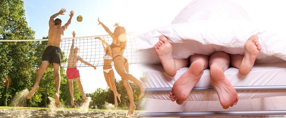 Punkt, Satz, Bett?! Seitensprünge unter Volleyballer und deren Freunde