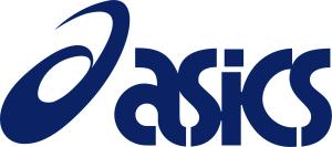 Das Bild zeigt das offizielle Logo des Sportartikelhersteller Asics
