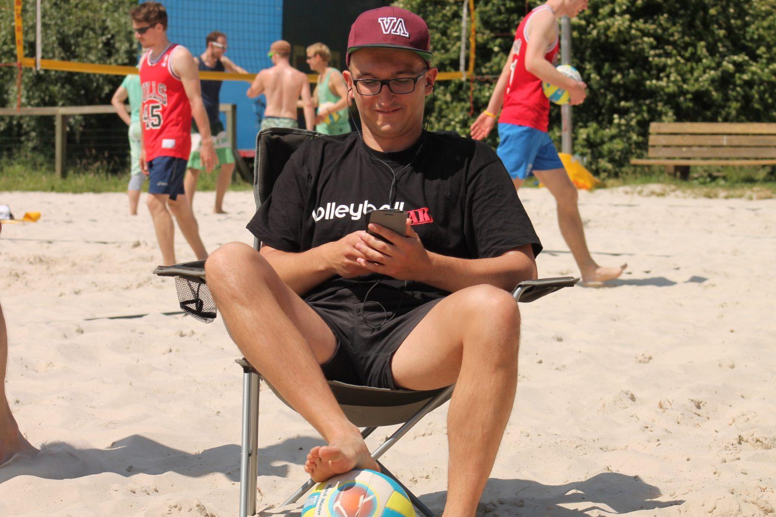 Musik für die Sommerplaylist beim Beach-(Volleyball)