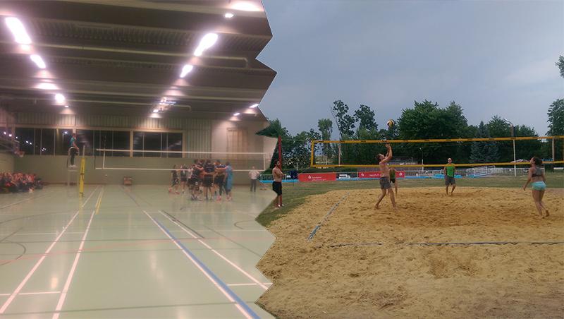 Beach vs. Hallenvolleyball: 2 ungleiche Brüder! – Teil 1