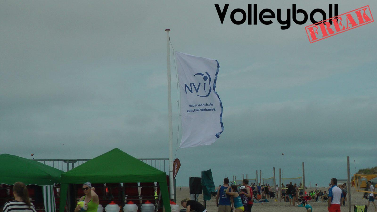 NVV-Flagge im Wind