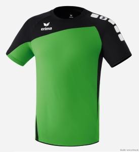 Das Bild zeigt das Herrentrikot Erima CLUB 1900 Trikot - grün/schwarz.