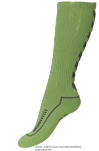 hummel-long-sock-kniestrumpf-volleyball