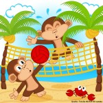 Evolution des Affentennis – so wirst du zum Volleyballgott!
