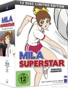 Das Bild zeigt das Cover von der Mila Superstar DVD-Sammlung!