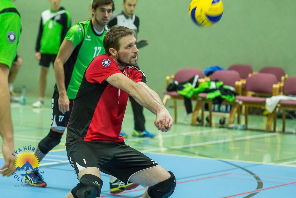 Volleyballtechnik Baggern (unteres Zuspiel)