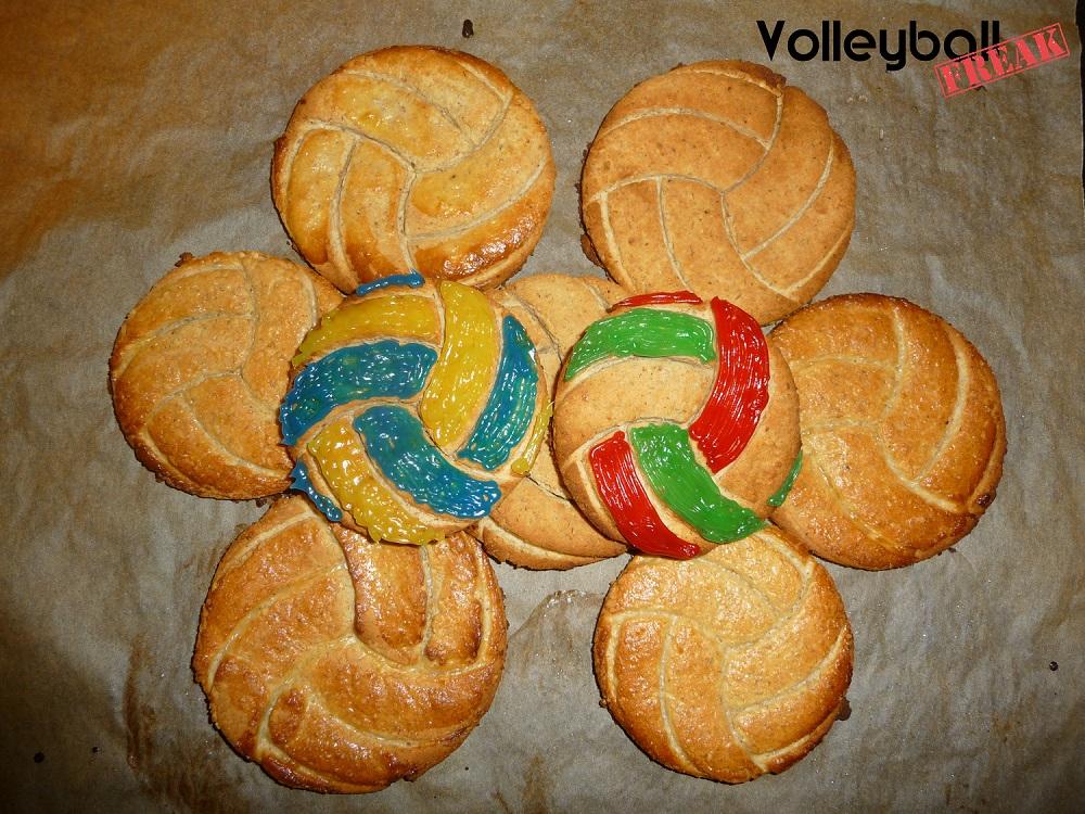 Volleyball-Fitnesskekse backen leicht gemacht!