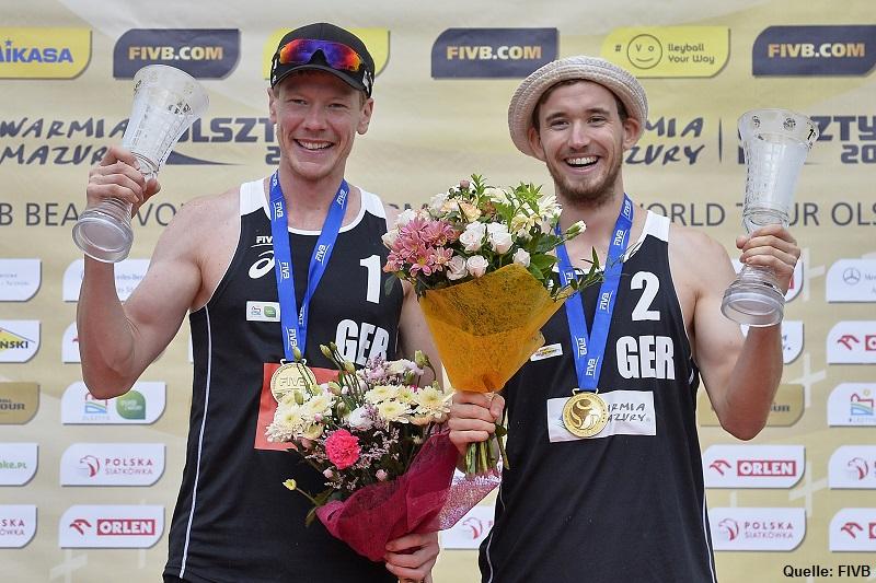 Beach Nationalteam Markus Böckermann/Lars Flüggen