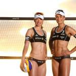 Beach Nationalteam Katrin Holtwick/Ilka Semmler