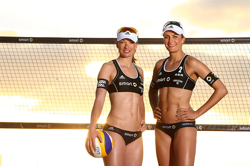 Beach Nationalteam Katrin Holtwick/Ilka Semmler