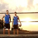 Beachvolleyballteam Armin Dollinger/ Clemens Wickler