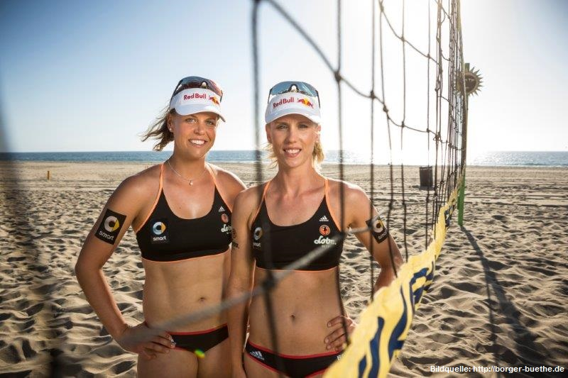 Beach Nationalteam Karla Borger/Britta Büthe