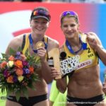 Beachvolleyball-Nationalteam Chantal Laboureur/Julia Sude