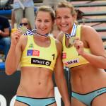 Beachteam Victoria Bieneck/Julia Großner