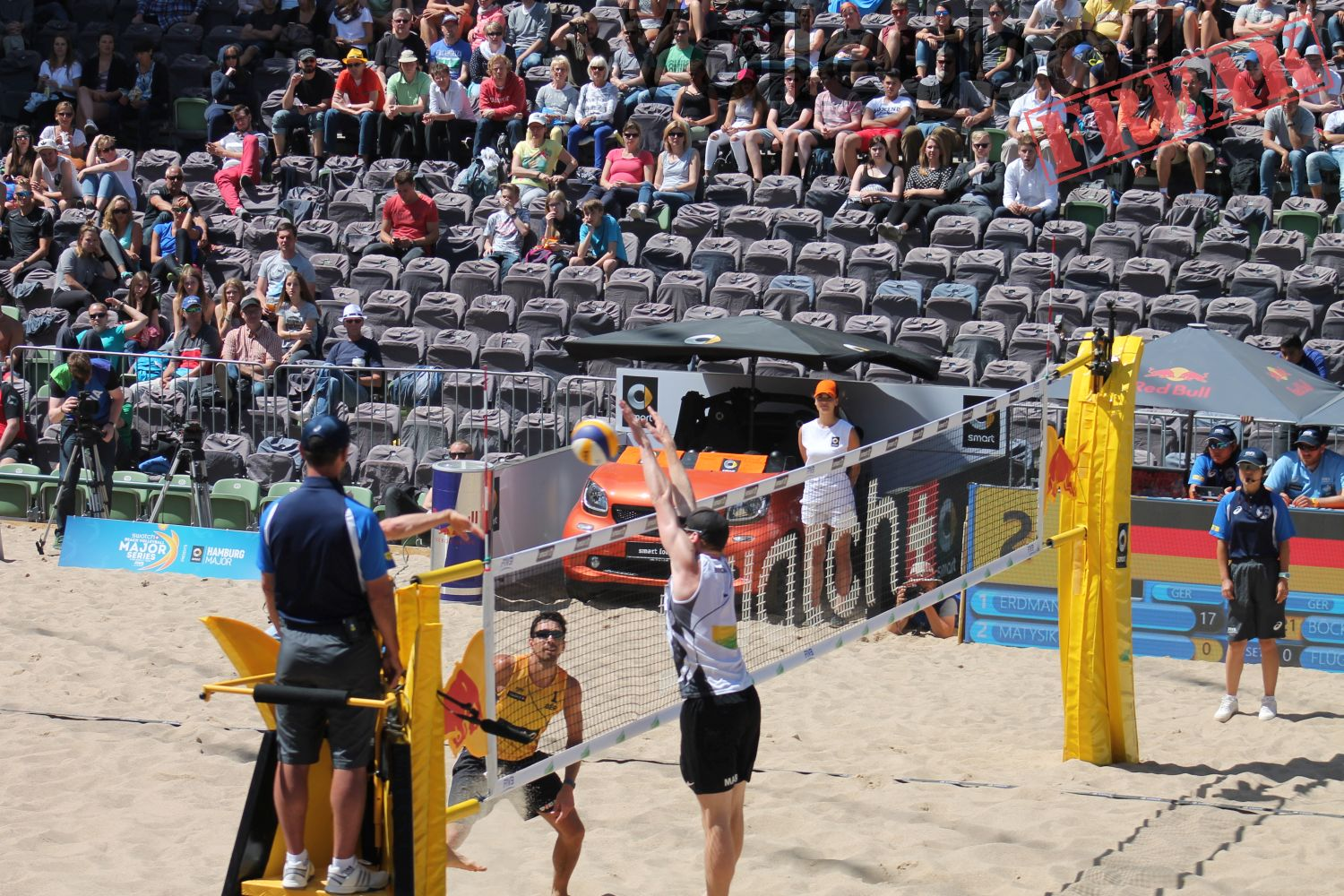 Impressionen vom FIVB Major in Hamburg 2016