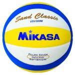 Das Foto zeigt den Mikasa VSV 300M Sand Classic Beachvolleyball.