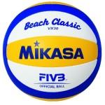 Das Foto zeigt den Mikasa VX 30 Beachvolleyball