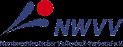 Das Foto zeigt das Logo des Nordwestdeutschen Volleyball Verbands (NWVV).