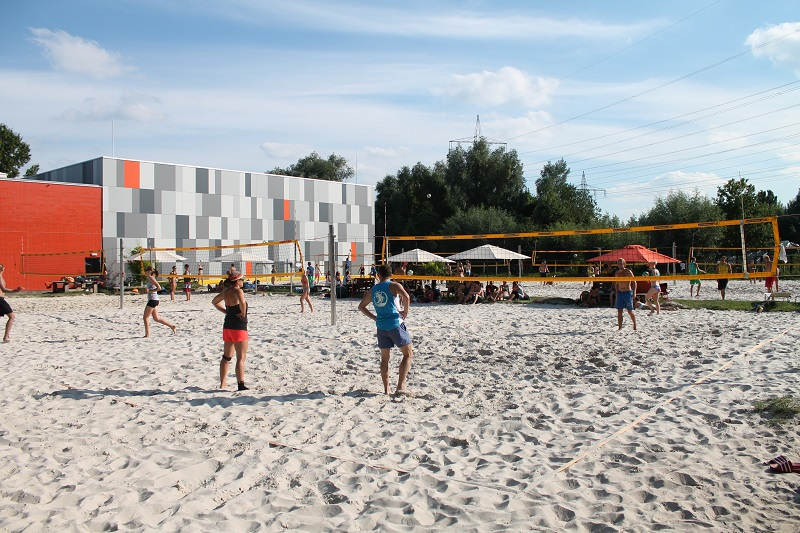 Beach Volleyball Camp Do-it-yourself