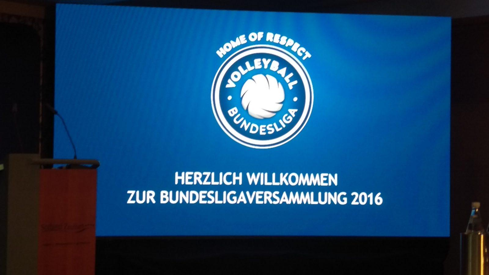 Volleyball-Bundesligaversammlung 2016