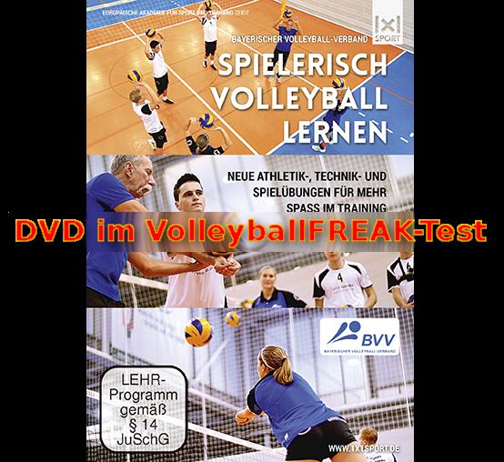 Volleyballtrainings-DVD – Spielerisch Volleyball lernen: Neue Athletik-, Technik- und Spielübungen für mehr Spaß im Training