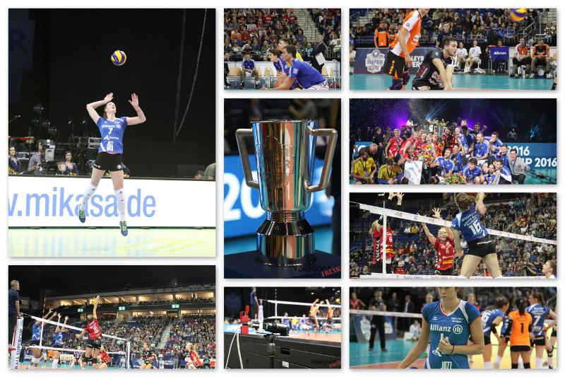 VolleyballFREAK zu Besuch beim Volleyball Supercup 2016 in Berlin