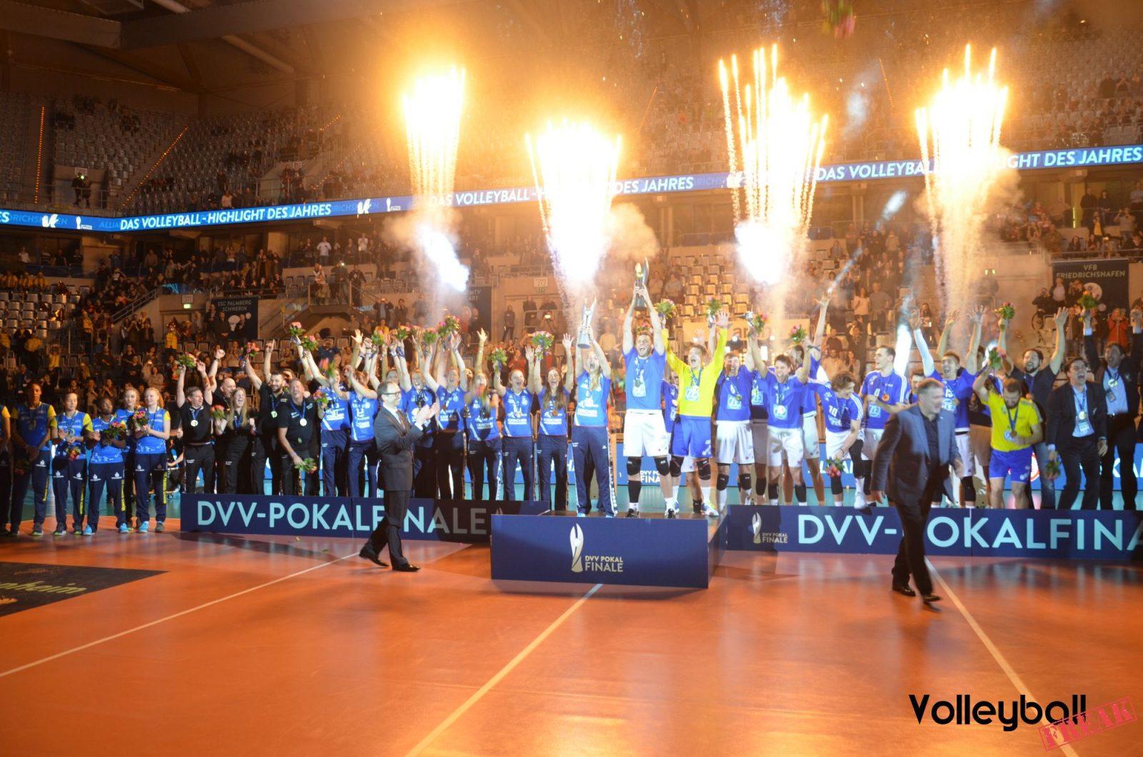 Galerie zum DVV-Pokalfinale 2017