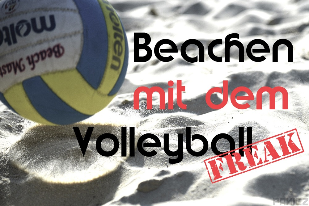 Beachen mit dem VolleyballFREAK