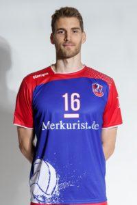 Das Foto zeigt Volleyballspieler Christian Dünnes im Portrait.