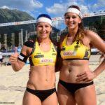 Beach Volleyball Nationalteam Nadja Glenzke/ Julia Großner