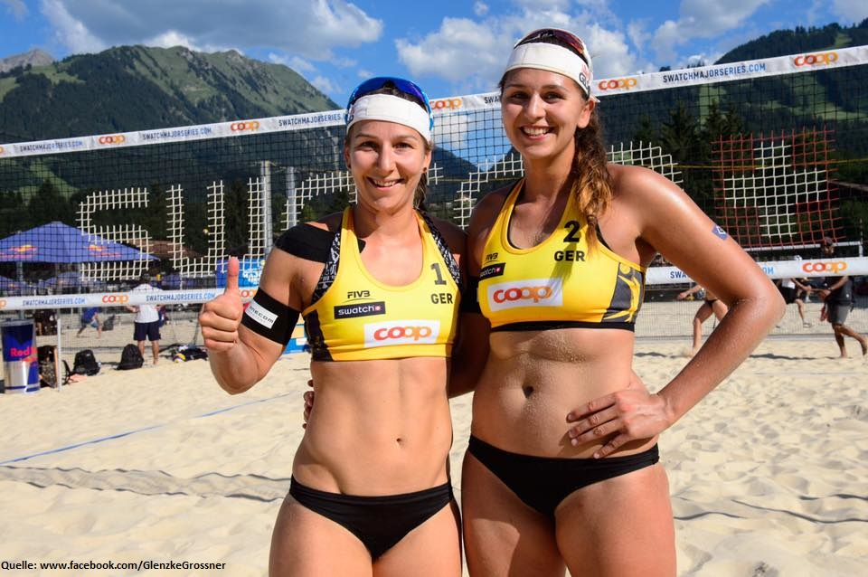 Beach Volleyball Nationalteam Nadja Glenzke/ Julia Großner