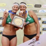 Beachvolleyball Nationalteam Isabel Schneider/ Victoria Bieneck