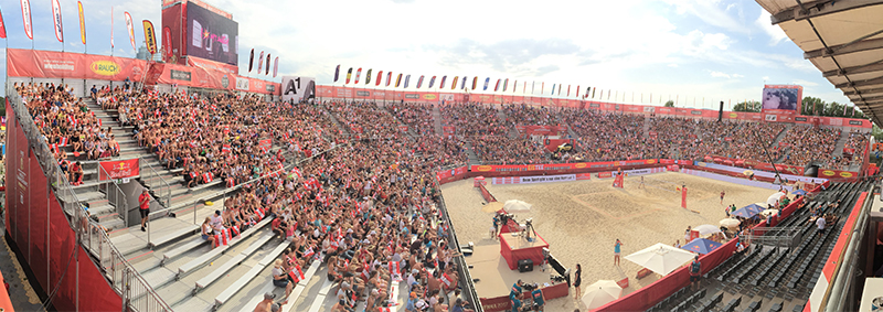 "VolleyballFREAK-Check: Beachvolleyball WM 2017 in Vienna – ""Raise your hands like a V!"""