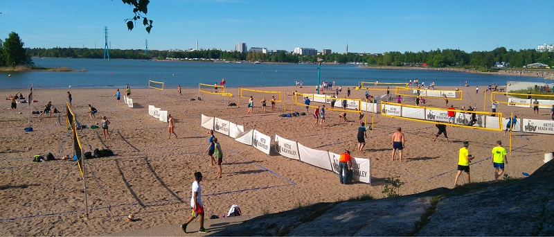 Hietsu Beach Volley Club – Beachvolleyball in Helsinki