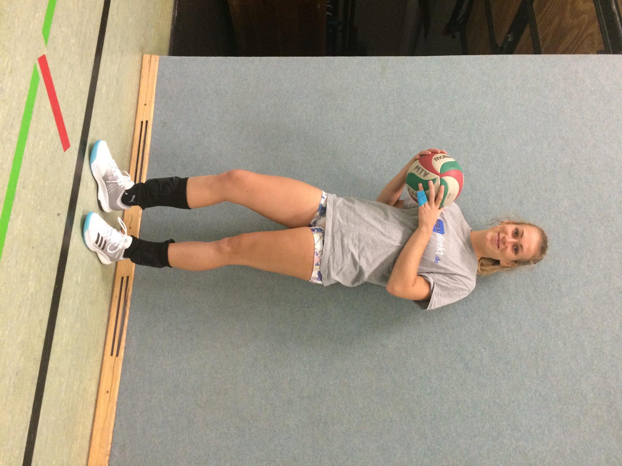 best service 273e3 8f663 Lisa im Training mit den Crazyflight X w von Adidas