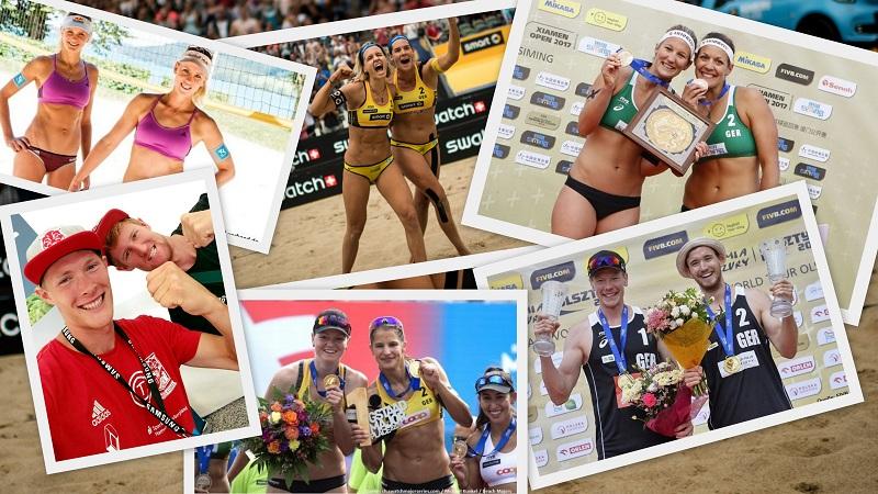 Beachvolleyball-Nationalteams 2018: Viel Kontinuität bei den Frauen vs. Wandel bei den Männern!